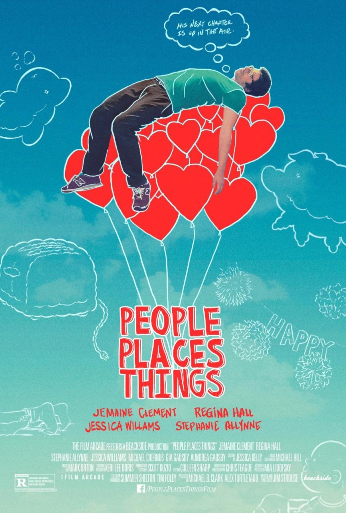 people place things