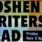 Goshen Writers Read Nov 3 Event image